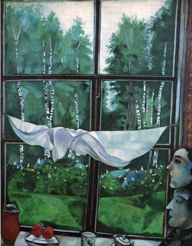 М. Шагал. «Окно на даче»