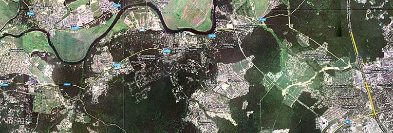 Его длина — 30 км, ширина — всего 6,4 м